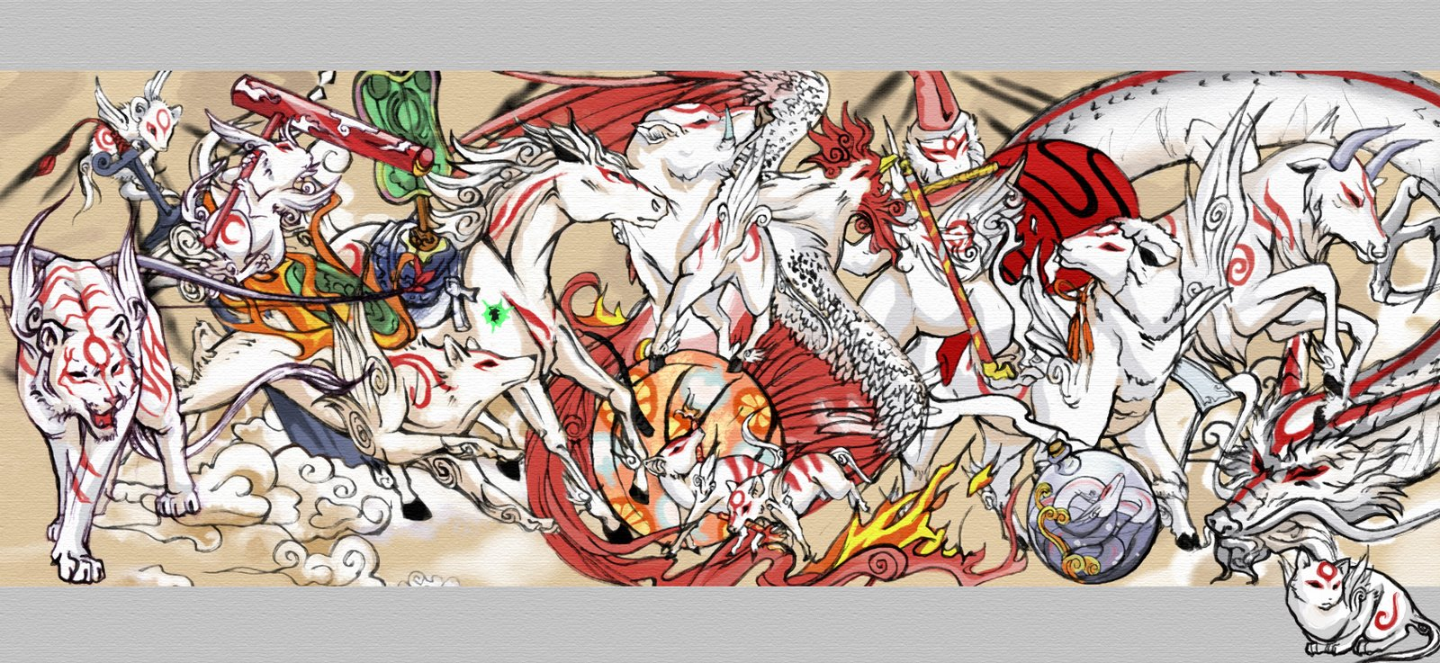 How Okami Transformed The Meaning Of Characters Like Amaterasu