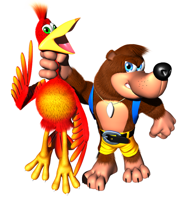 mage result for banjo kazooie