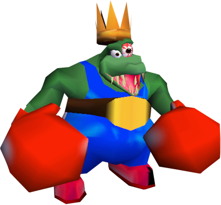 mage result for king k rool dk64