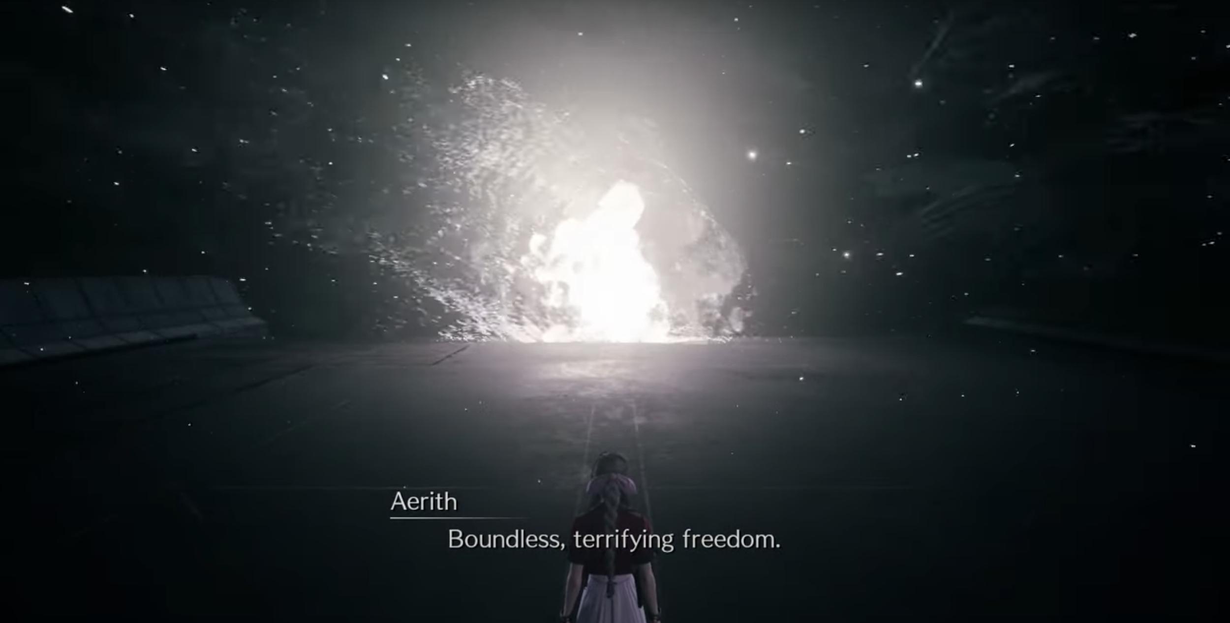 Aerith at Destiny's Crossroads